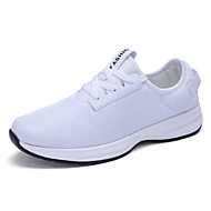 Unisex-Tyll-Flat hæl-Komfort-Treningssko-Sport-Svart Blå Rød Hvit Marineblå