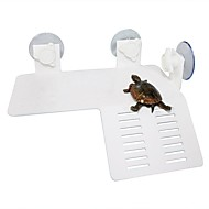 Aquarium Reptil Schildkröte aalt Terrasse schwimmende Insel Plattform Dock Dekor