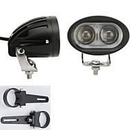 2x cree llevado barras de luz 4WD SUV ATV 4 * 4 vehículos todo terreno con un par de soportes de montaje