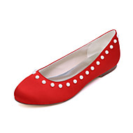Women's Flats Spring / Summer / Fall Round Toe / Flats Silk Wedding / Party & Evening