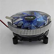 bingfeng lanbingバージョンインテル775 1155 AMD CPUヒートシンクマルチプラットフォームミュート光