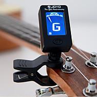 Professionel Elektroniske tunere Høj klasse Guitar nyt instrument Plastik Musical Instrument Tilbehør Sort