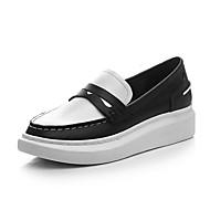 Damen-Sneaker-Büro Kleid Lässig-Kalb Haar-Plateau-Komfort