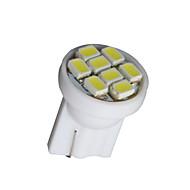 10 x branco t10 8-SMD 3020 levou cunha W5W lâmpada lado bulbo 194 168 501 12v