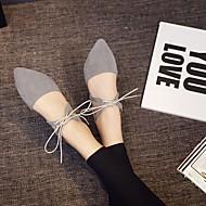 Lapos-Lapos-Női cipő-Lapos-Alkalmi-Kasmír-Fekete / Szürke