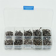 Fishing-500 pcs Silver Carbon steel-Ise NigeriaSea Fishing / Fly Fishing / Bait Casting / Ice Fishing / Spinning / Jigging Fishing /