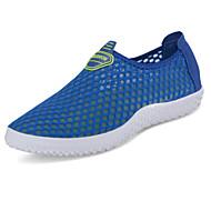 Sandals Summer Comfort Tulle Outdoor Flat Heel Gore Blue Green Gray Navy Orange Fuchsia Royal Blue