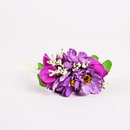 Oufulga Korea Multi Color Brides Wrist Flowers Bridesmaid Wrist Flowers