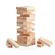 48 blokke mini træ stabling& tumble punkthuse spil