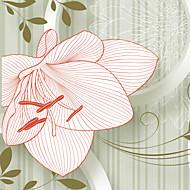 Floral Papel de Parede Para Casa Regional Revestimento de paredes , Tela Material adesivo necessário Mural , quarto Wallcovering
