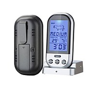 Wireless BBQ Thermometer Johdolliset Others Food and temperature, timer display, thermometer alarm function Musta Fade
