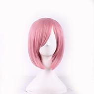 Mode sexy Frauen kurze Haare Perücken rosa Farbe Cosplay synthetische Perücken