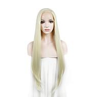 imstyle 24on myynti pitkä luonnollinen suora synteettinen Nyörilliset peruukit