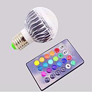 Remote Control Bulb / RGB Colorful 16 Color 3W Bulb Lamp