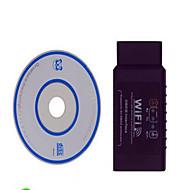 iphone elm327 OBD תומך תווית שחורה wifi מומנט אנדרואיד