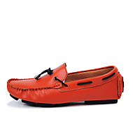 Men's Flats Spring / Summer Round Toe / Flats Leather Outdoor / Office & Career / Casual Flat Heel Others