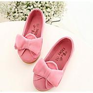 Djevojčice Ravne cipele PU Proljeće Jesen Mašnica Ravna potpetica Bijela Fuksija Pink Ravne