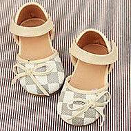 Girl's Flats Summer Ballerina / Round Toe  Casual Flat Heel Others Brown / White Others
