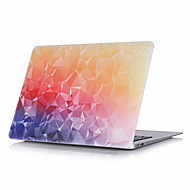 "Case for Macbook 13"" Macbook Air 11""/13"" Macbook Pro 13""/15"" MacBook Pro 13""/15"" with Retina display Color Gradient Plastic Material Crystal Pattern"