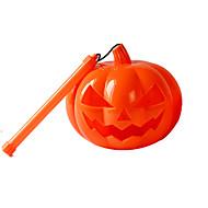 1pc Halloween-Kürbis Lampe Feiertagsdekorationen Gürtel Sound Kürbis Lampe Thriller Lachen