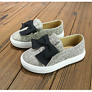 Girl's Boat Shoes Fall Flats Canvas Casual Flat Heel Others Blue / Gray Others
