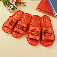 Unisex Slippers & Flip-Flops Spring / Summer / Fall / Winter Comfort Silk Casual Flat Heel Others Red Others