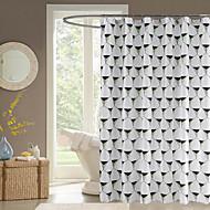 Moderní Poly / Cotton Blend 70x72inch  -  Vysoká kvalita Koupelnové závěsy