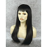 IMSTYLE 24Natural looking Top Quality Black Synthetic Lace Front Wig For Black Women