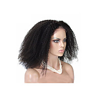 """20""""-24""""Full Lace Wigs Afro Kinky Curly Unprocessed Brazilian Virgin 100% Human Hair Natural Color"""