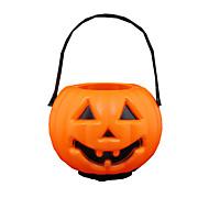 1 stk halloween gresskar lampe bar scene kjole barn leketøy godteri jar gresskar lampe