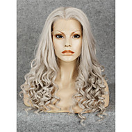 IMSTYLE 24Fashion Long Curly High Quality Synthetic Lace Front Wig Heat Resistant Fiber