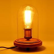 Íróasztali lámpa Modern/kortárs - Fa/bambusz