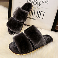 Women's Flats Spring / Summer Comfort Rubber Casual Flat Heel Others Black / Blue Others