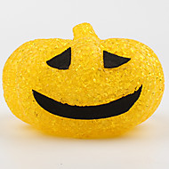 1ks halloween plastové krystal dýně barevné malé noční světlo