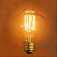 D80 Edison restaurant uttak bar retro dekorativ lampe (e27 40W)