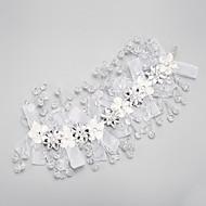 Vrouwen Bergkristal / Kristallen / Polyester Helm-Bruiloft / Speciale gelegenheden Hoofdbanden 1 Stuk