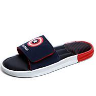Γυναικεία παπούτσια-Σανδάλια-Καθημερινά-Επίπεδο Τακούνι-Χωρίς Τακούνι-Συνθετικό-Πράσινο / Κόκκινο / Μαύρο και Κόκκινο / Μαύρο και Άσπρο /