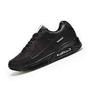 Unisex-Sneaker-Lässig-PU-Flacher Absatz-Komfort-Schwarz Blau Grün Weiß