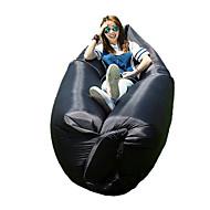 Feuchtigkeitsundurchlässig Wasserdicht Videokompression Komfortabel Aufgeblasene Matte Aufblasbares Sofa Grün Schwarz BlauWandern Camping