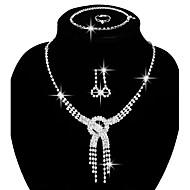 Šperky Náhrdelníky / Küpeler / Prstýnky / Náramek Svatební šperky Soupravy Módní Párty / Denní / Ležérní 1Nastavte Dámské Stříbrná