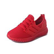 Dame-Tyll-Flat hæl-Komfort-Sportssko-Fritid-Svart Rød