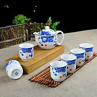 1PC Slap-Up Atmospheric Family Entertainment Ceramics Tea set SEVEN-PIECE Cup Teapot