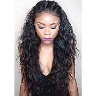 תחרה מלאת גלי פאות שיער אדם עבור פאות פאות שיער אדם התחרה מלאות שיער בתולה הברזילאיות 8-30inch נשים