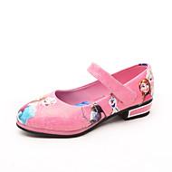 Djevojčice Ravne cipele PU Proljeće Jesen Životinjski uzorak Mat selotejp Ravna potpetica Crvena Crvena Plava Pink Ravne