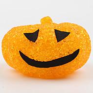 1pc halloween Plastikkristall Kürbis Nachtlicht