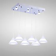 5W Luzes Pingente ,  Contemprâneo Pintura Característica for LED AcrílicoSala de Estar / Quarto / Sala de Jantar / Cozinha / Quarto de