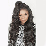8A Full Lace Human Hair Wigs For Women 130% Density  Wavy Human Hair Wigs Brazilian Virgin Hair Lace Wig