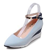 Women's Flats Flats Denim Outdoor / Dress / Casual Flat Heel Others Blue Others