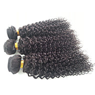 26-30'' Malaysian Virgin Hair 3 Bundles Malaysian Curly Hair Malaysian Kinky Curly Virgin Hair Deep Wave Curly 1b