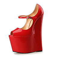 Women's Shoes 22CM Heel Height Sexy Peep Toe Wedges Heel Pumps Party Shoes More Colors available